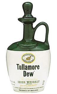 Tullamore Dew Irish Whiskey Crock Bottle...